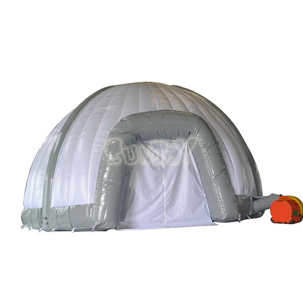 6M Inflatable Dome Tent ...  sc 1 st  Sunjoy Inflatables & SJ-TE15001 6M Giant Gray White Inflatable Dome Tent Sale_Sunjoy ...