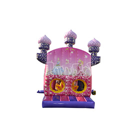 SJ-CO140047 Inflatable Princess Castle Bounce House Combo