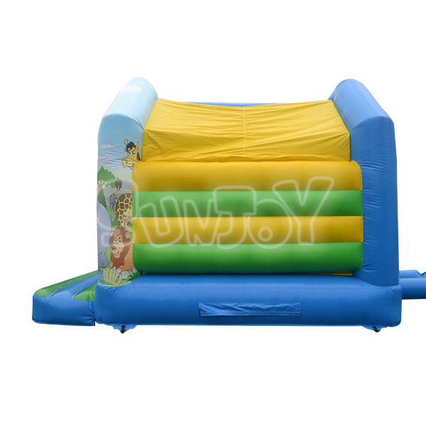 Sj Bo14003 Cool Bounce House With Jungle Theme For Kids