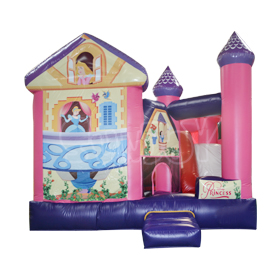 SJ-CO2012039 Inflatable Princess Bouncy Castle With Slide