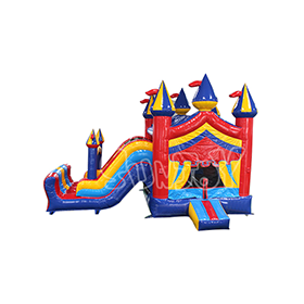 SJ-CO17005 Colorful Inflatable Jumping Castle Combo For Sale