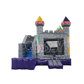SJ-CO17008 Inflatable Castle Combo Bounce House For Sale