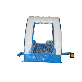 SJ-NS16011 Blue Wave Inflatable Water Slip and Slide Tunnel