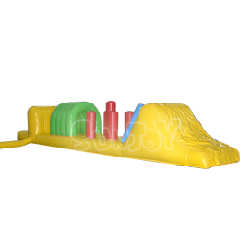 Inflatable Water Obstacle Course, Pool Floating Game For Sale SJ-WG12033