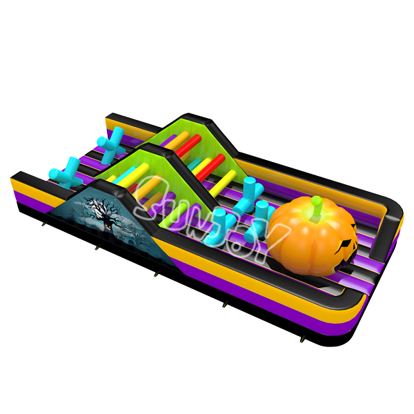 Halloween Inflatable Obstacle Course