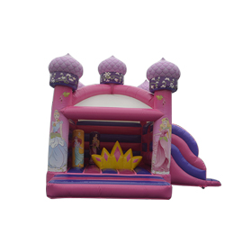 SJ-CO140046 Inflatable Princess Bounce House With Slide