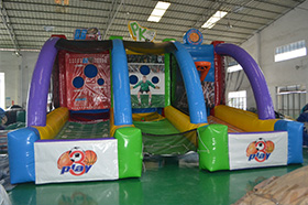 SJ-SP15017 Inflatable 3 in 1 sport game