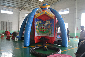 SJ-SP15075 Inflatable 5 in 1 sport game