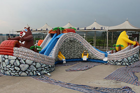SJ-WP16004 Inflatable Water Park