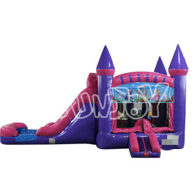 SJ-CO16012 Inflatable Princess Water Slide Bounce House