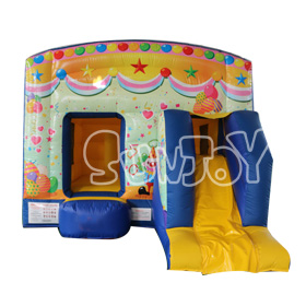 SJ-CO16106 Inflatable Clown Jump House Combo For Kids