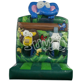 SJ-CO16108 Inflatable Jungle Animal Combo Bouncer Jumper