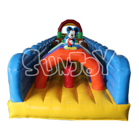 SJ-OB16030 20M Inflatable Big Obstacle Course For Sale