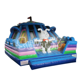 SJ-AP16055 Inflatable Circus Troup Playground For Sale