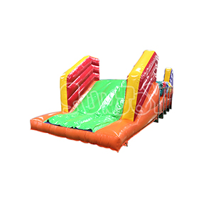 SJ-SP16057 Inflatable Roller Obstacle Course Game For Sale