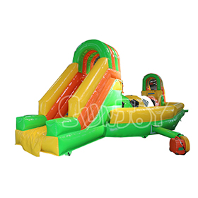 SJ-SP16060 Inflatable Soccer Obstacle Course For Sale