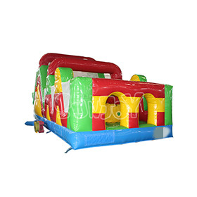 SJ-OB16014 Wave Climbing Walls Inflatable Obstacle Course