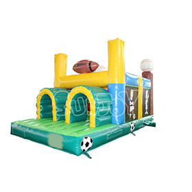 SJ-OB16013 Ball Games Inflatable Obstacle Course Custom