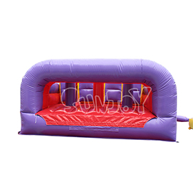 SJ-OB17001 40FT Bright Color Inflatable Obstacle Course