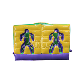 SJ-OB17006 Two Players Adult Inflatable Obstacle Course