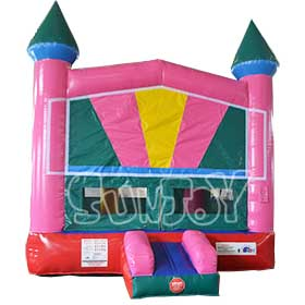 SJ-BO15037 Inflatable Bounce House With Basketball Hoop