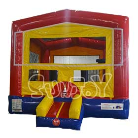 SJ-BO15023 Bright Inflatable Jumping Bouncer Basketball Hoop
