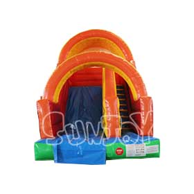 SJ-SL16001 Rainbow Arches Commercial Inflatable Dry Slide
