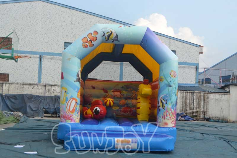 Ocean Theme Backyard Bounce House For Sale ...