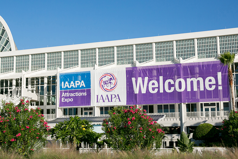 welcome to The IAAPA Attraction Expo 2017