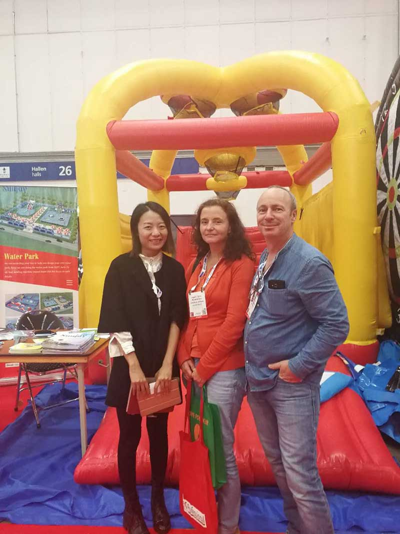 Sunjoy in Euro Attractions Show (EAS) 2017 1
