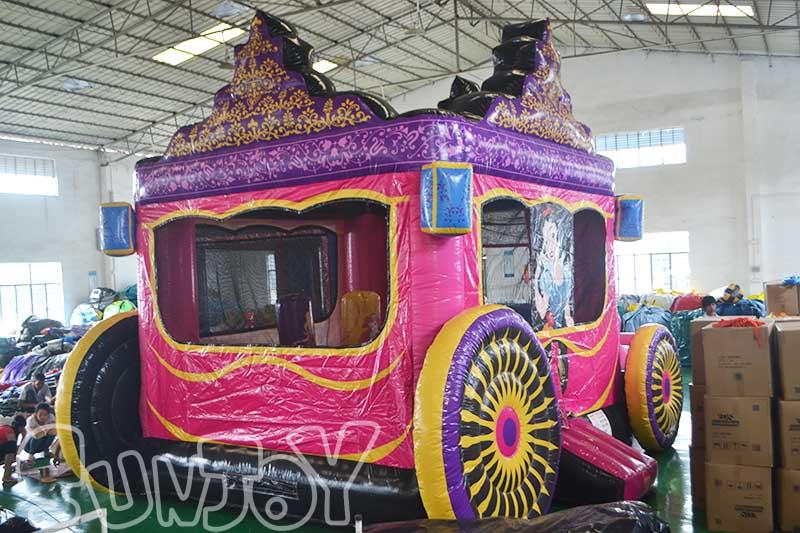 Princess Royal Carriage Inflatable Jumper Combo Sj Co15037