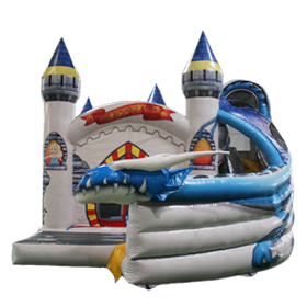 SJ-CO17013 Dragon Castle Inflatable Bounce House Slide Combo