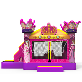 SJ0898 19FT Princess Inflatable Combo New Design For Sale
