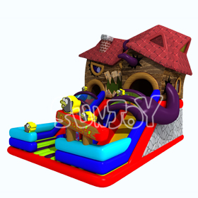 SJ17003 Monster House Inflatable Amusement Park New Design