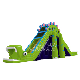 12 Meters Tall Dinosaur Inflatable Slide New Design SJ17010