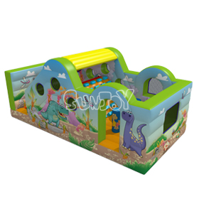 8M x 4M Dinosaur Inflatable Combo New Design For Kids SJ17015