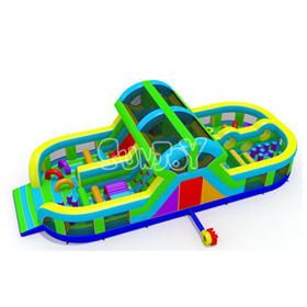U-shaped Inflatable Obstacle Co