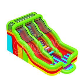 20' Colorful Inflatable Slide T